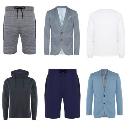 Menswear e-commerce mannequin styling